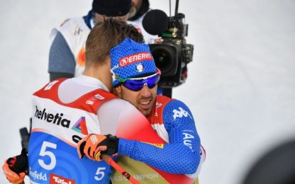 Mondiali Seefeld, Pellegrino argento nella sprint