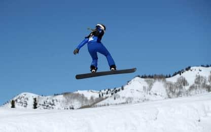 Una giornata con le donne dello snowboard