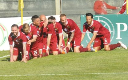 Serie C: Catania ko a Reggio, pari Pordenone