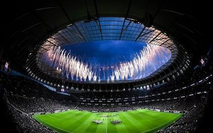 Tottenham, tifosi in festa nel nuovo stadio. FOTO