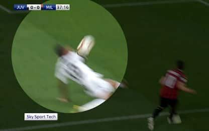 Braccio Alex Sandro, Fabbri non dà rigore. VIDEO