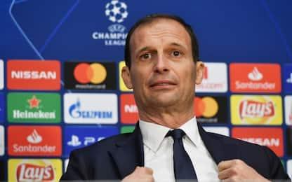 """Allegri: """"Ronaldo titolare contro l'Ajax"""""""