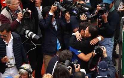 Fognini, trionfo a Montecarlo: le FOTO della festa
