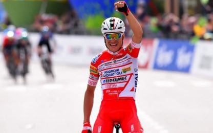 Tour of Alps, 3^ tappa a Masnada, Sivakov leader