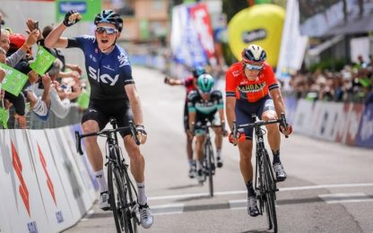 Tour of Alps: Hart vince 4^ tappa, Sivakov leader