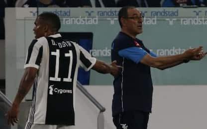 """D. Costa: """"Con Sarri resto, faremo grandi cose"""""""