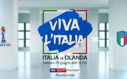"""Viva da morire"", Italia-Olanda con Paola Turci"