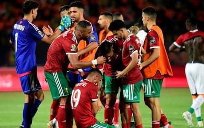 Marocco agli ottavi, battuta 1-0 la Costa D'Avorio
