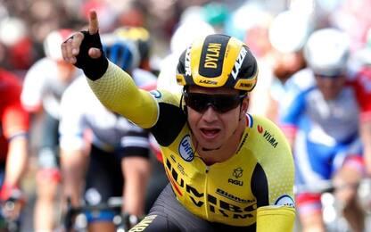 Groenewegen vince 7^ tappa, Ciccone maglia gialla