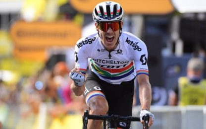Impey vince 9^ tappa, Alaphilippe in maglia gialla