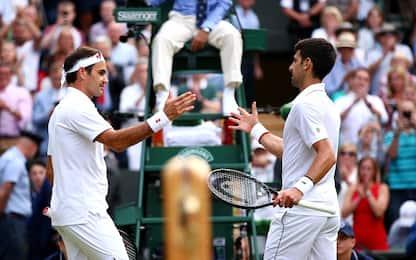 Ascolti da record per Federer-Djokovic su Sky
