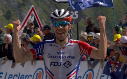Pinot vince sul Tourmalet. Alaphilippe in giallo