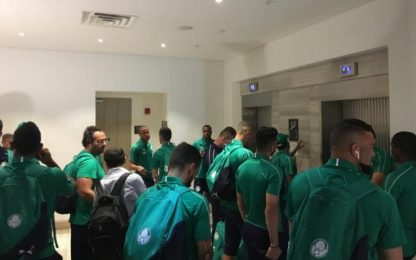 Terrore Palmeiras, aereo rischia di precipitare
