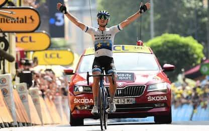 Impresa azzurra al Tour, Trentin vince a Gap