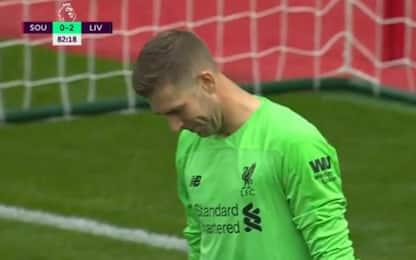 Adrian, papera clamorosa con il Southampton. VIDEO