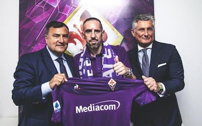 """Fiorentina, ufficiale Ribery: """"È nostro"""""""