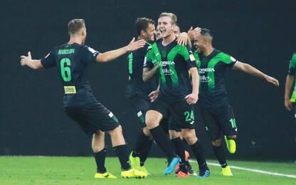 Valanga Pordenone, Frosinone travolto 3-0