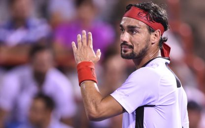 US Open, Fognini eliminato al 1° turno. Lorenzi ok