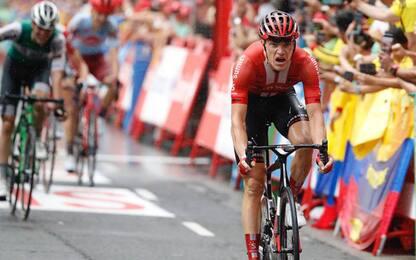 Arndt vince l'8^ tappa, Edet nuova maglia rossa