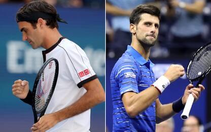 Federer e Djokovic, che show: volano agli ottavi