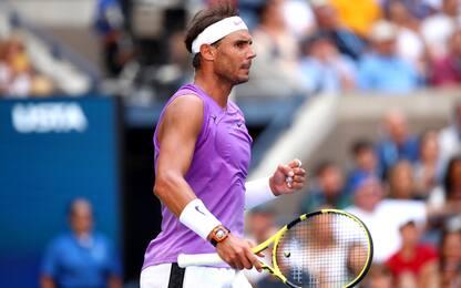 US Open, Chung ko: Nadal agli ottavi
