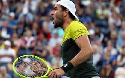 Berrettini nella storia: ai quarti agli US Open