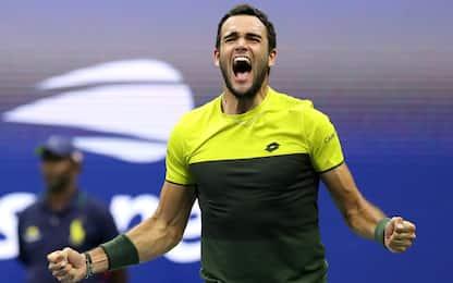 Berrettini da sogno: semifinale agli US Open!