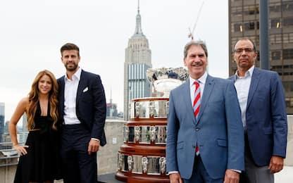 Piqué presenta la nuova Coppa Davis a New York
