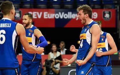 Europei: Italia, buona la prima con il Portogallo