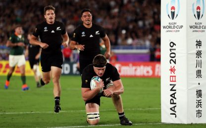Ottimi All Blacks, Sudafrica battuto 23-13