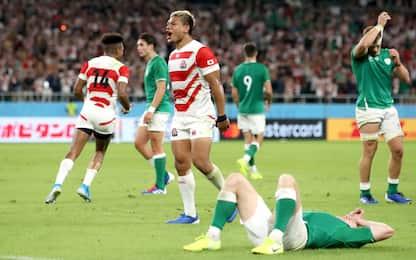 Mondiali, colpaccio Giappone: Irlanda ko 19-12
