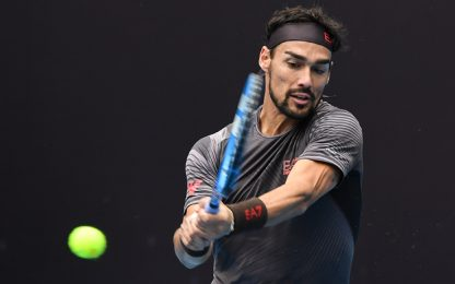 Shanghai, Fognini al 2° turno. Sonego-Ceck out