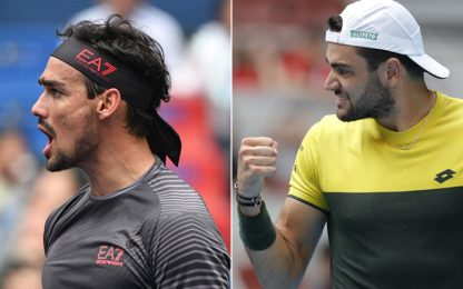 Fognini batte Murray a Shanghai, ok Berrettini