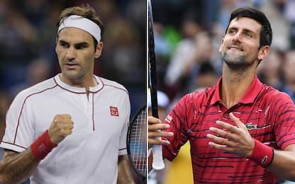 Shanghai: Federer e Djokovic a braccetto ai quarti