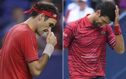 Clamoroso a Shanghai: fuori Federer e Djokovic