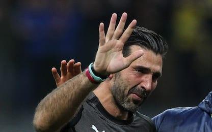 """Buffon addio in lacrime: """"Abbiamo fallito"""""""