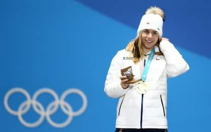Ledecka, trionfo a sorpresa: vince l'oro in superG