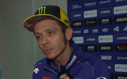 """Rossi: """"Problemi all'anteriore, sono preoccupato"""""""