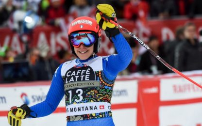 SuperG Crans-Montana: Brignone 4^, vince Weirather