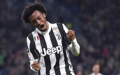 Cuadrado batte il Milan, Juve a +4 sul Napoli