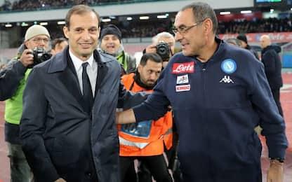 Juventus e Napoli, che la lotta scudetto continui