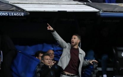 Real-Juve, Ramos nel tunnel: possibile squalifica