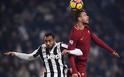 Roma-Juventus, le probabili formazioni