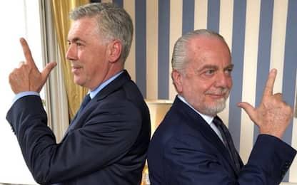 Ancelotti nuovo allenatore del Napoli, è ufficiale