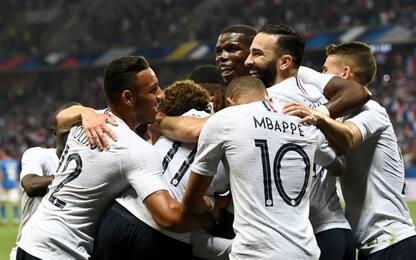 Italia ko a Nizza: la Francia vince 3-1