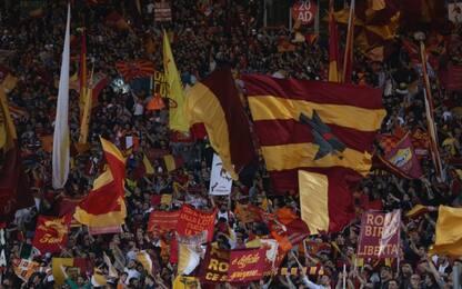 La Uefa punisce la Roma, 2 trasferte senza tifosi
