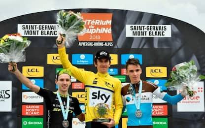 Geraint Thomas vince il Giro del Delfinato