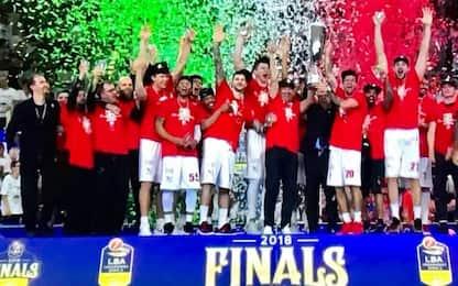 Milano campione d'Italia: Trento ko in gara-6
