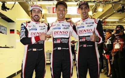 24 Ore Le Mans, Alonso trascina Toyota al successo