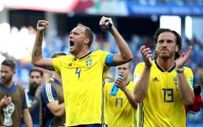 Alla Svezia basta Granqvist: 1-0 alla Corea